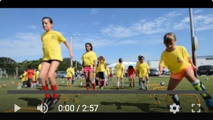 OBX Soccer Camp for Kids - YouTube Video